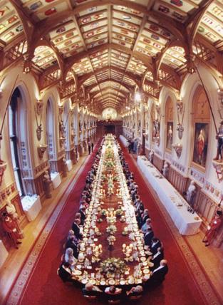 Windsor Castle-State Banquet.